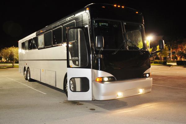 40 passenger party bus Christi