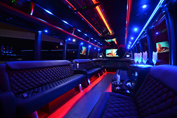 40 passenger party bus rental Christi