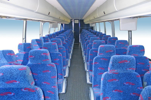 50 person charter bus rental Christi